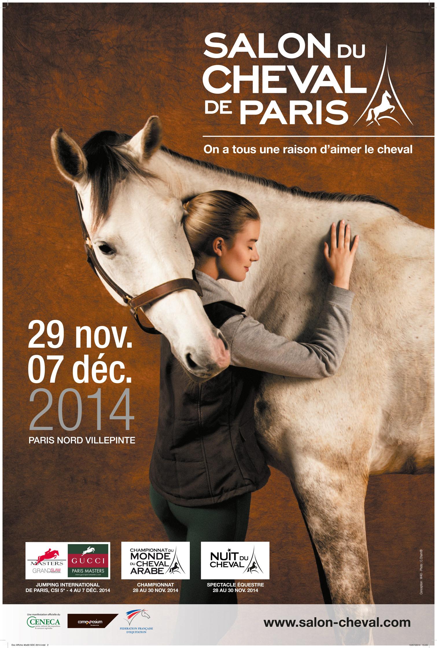 Salon du cheval de paris 2014 lesaboteur for Salon du cheval montpellier 2017