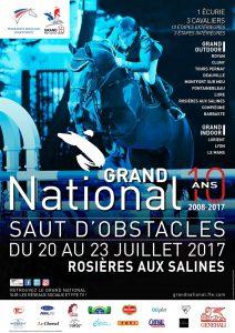 GRAND NATIONAL FFE DE SAUT D'OBSTACLES