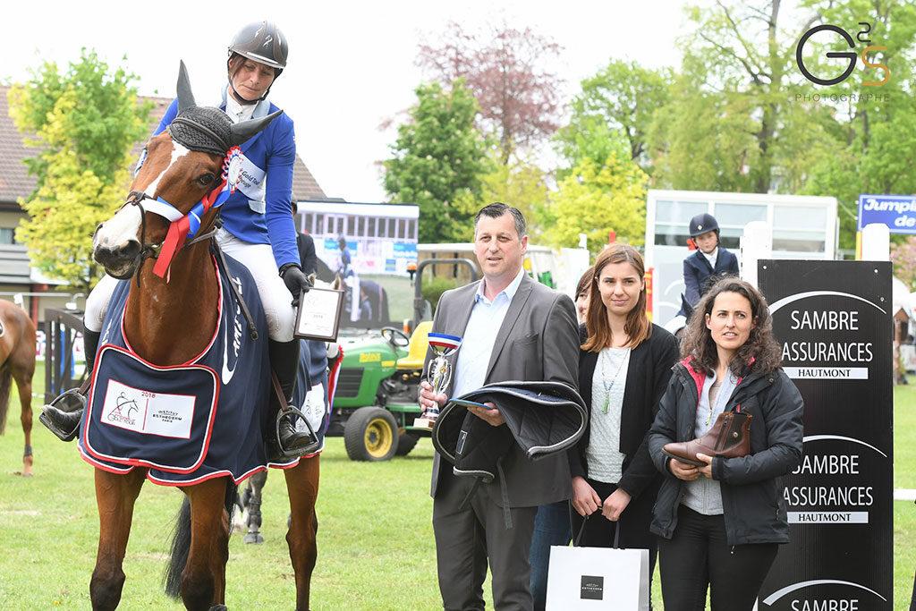 Amateur Gold Tour FFE Lucy Falvy et Ardan de Maucourt