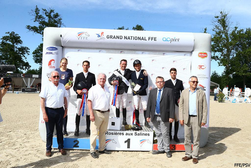 FFE victoire Saut d'obstacles à Rosieres aux Salines