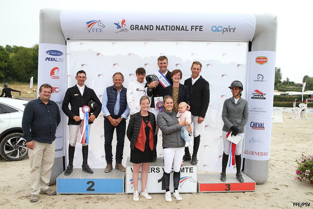CSO de Villers Vicomte vainqueur